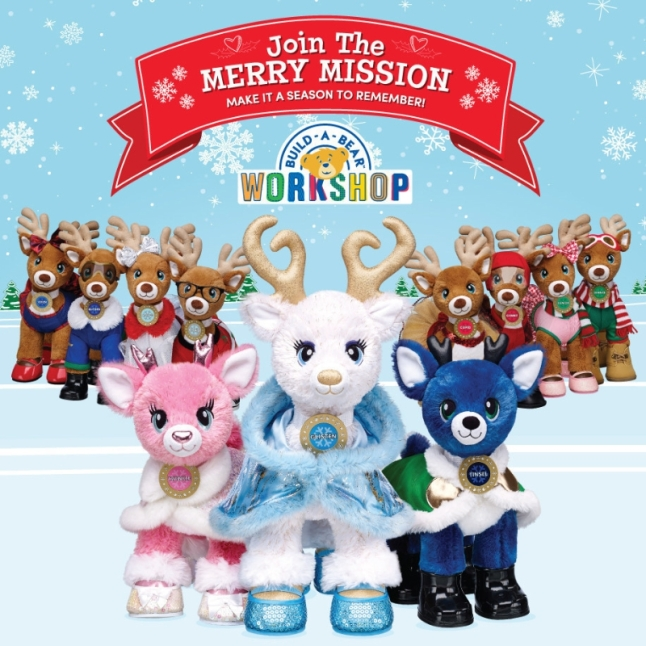 Build A Bear Workshop Merry Mission