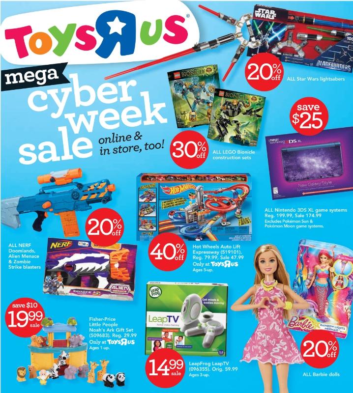 Toys R Us Cyber Week