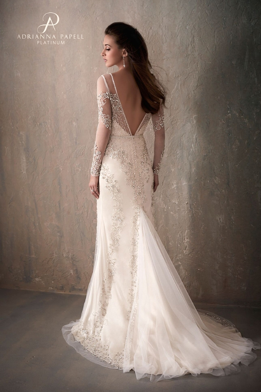 Adrianna Papell Platinum Bridal Collection