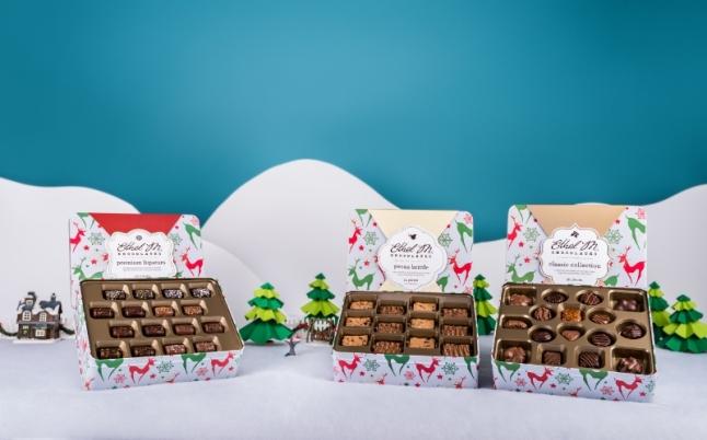 Ethel M Chocolates Reindeer Tins