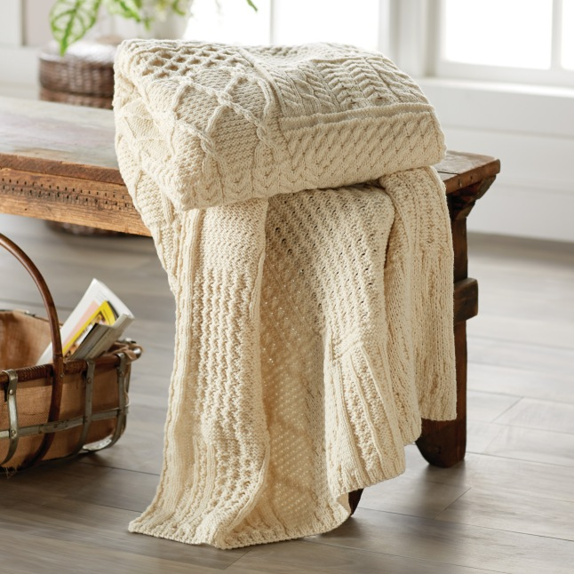 irish-aran-knit-throw