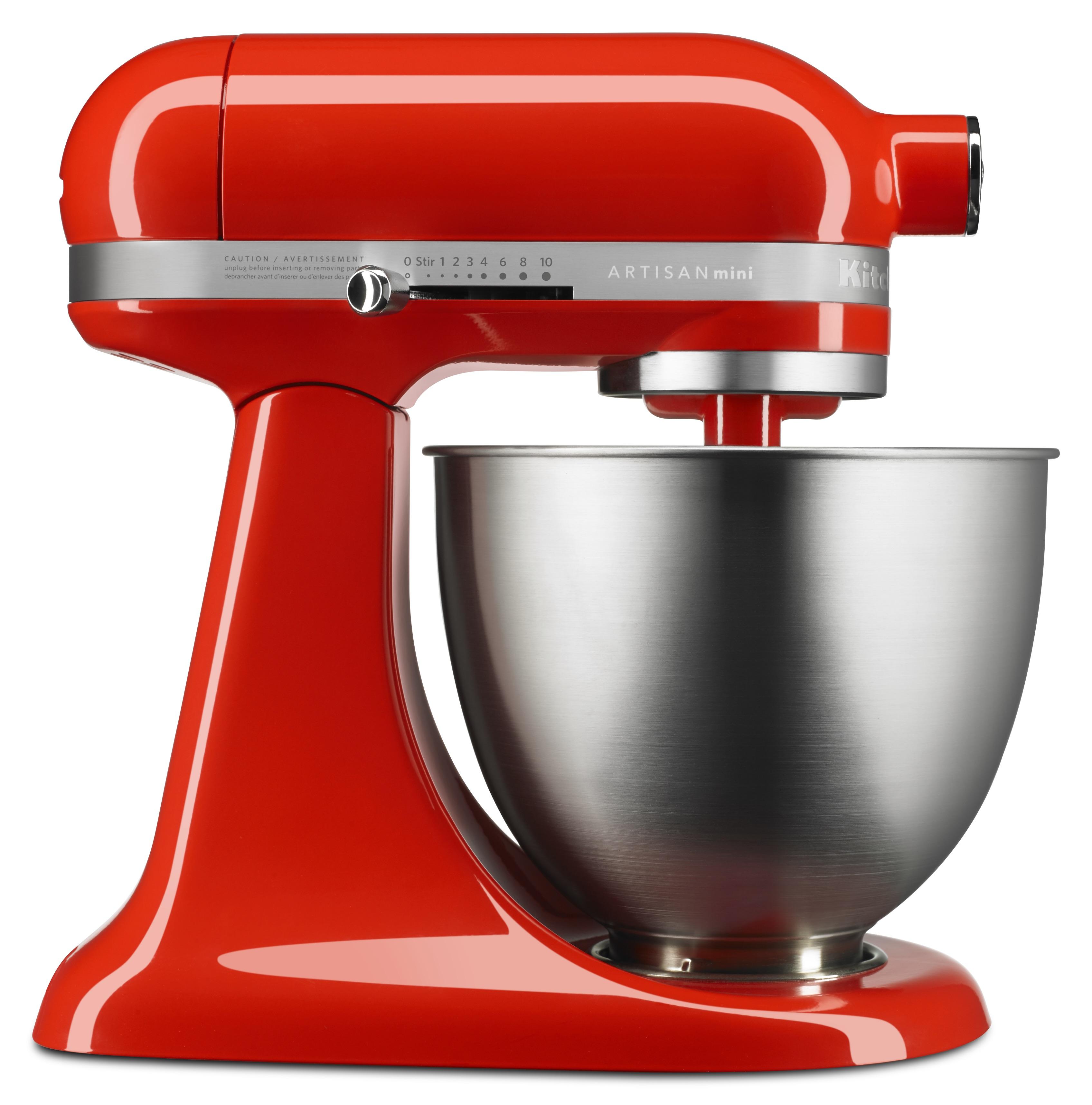 kitchenaid-artisan-mini-stand-mixer-in-hot-sauce