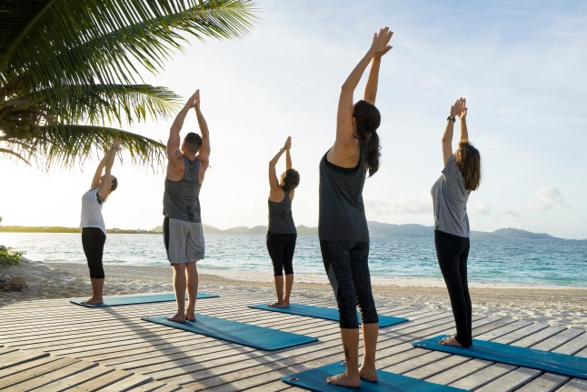 sunrise-yoga-at-the-reef-by-cuisinart-anguilla