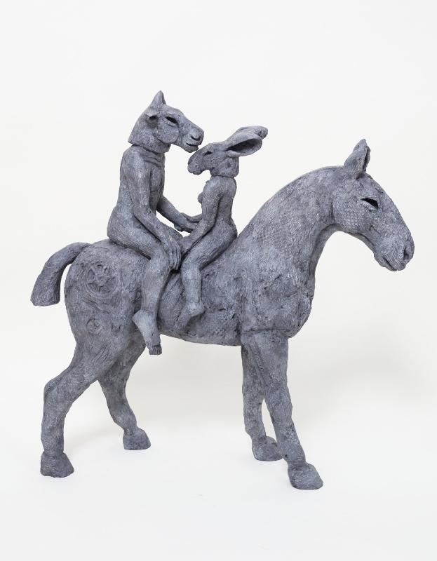 Waterhouse and Dodd - Lovers on Horseback