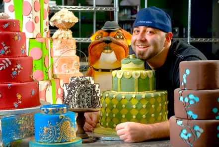 Food Network Star Duff Goldman and other world-renowned celebrities will appear at The Americas Cake Fair, October 13-15, 2017, in Orlando, Florida. (Photo Credit: The Americas Cake Fair)