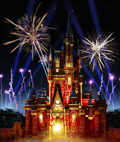 """Happily Ever AfterÓ Fireworks and Projection Spectacular Debuts May 12 at Magic Kingdom Park"