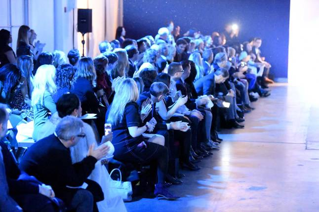 celebrities-media-and-influencers-gather-at-pier59-studios-as-the-inaugural-blue-jacket-fashion-show-is-set-to-begin