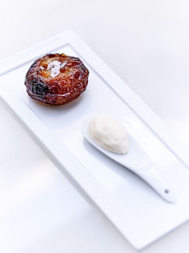 tarte-tatin-doignon-glace-parmesan-le-george