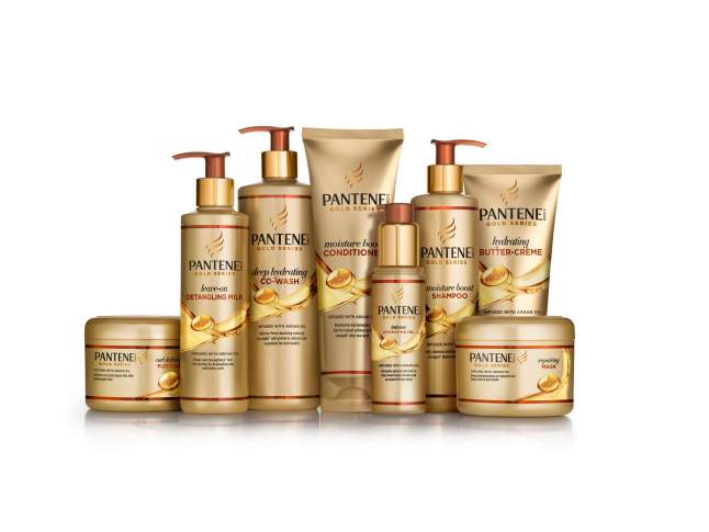 Pantene Gold Series product group
