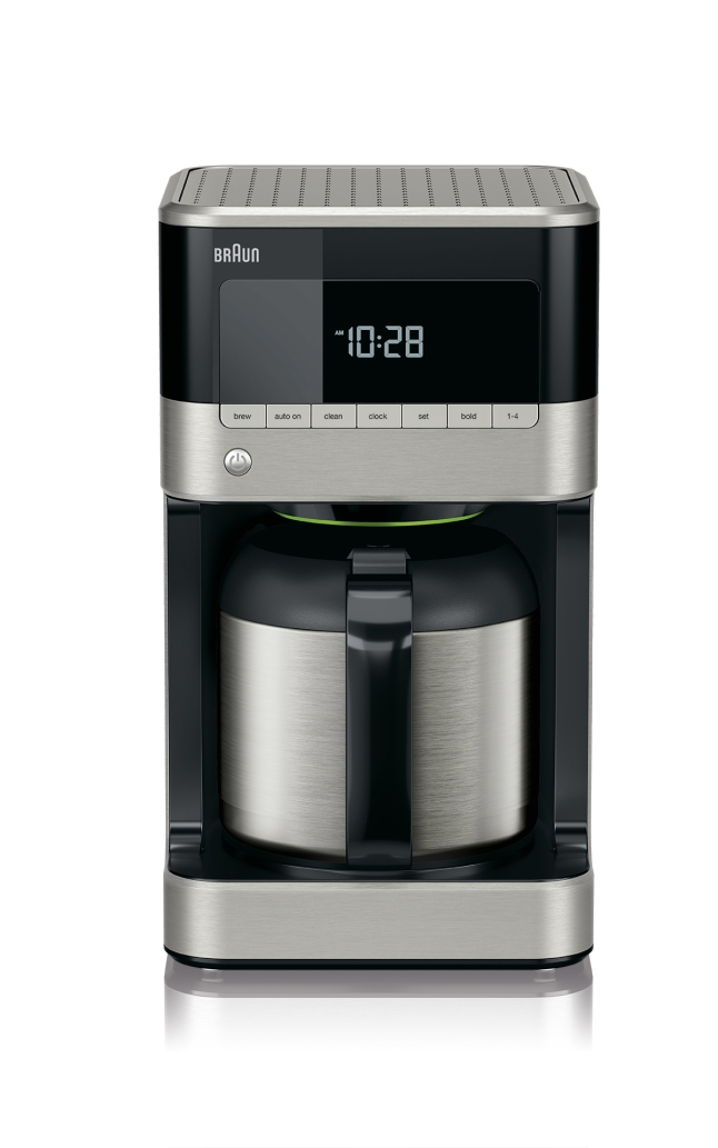 BrewSense 10-cup Drip Coffee Maker with thermal carafe