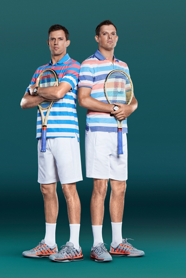 IZOD Signs Multi-Year Marketing Partnership with 16 Times Grand Slam Champs, the Bryan Brothers