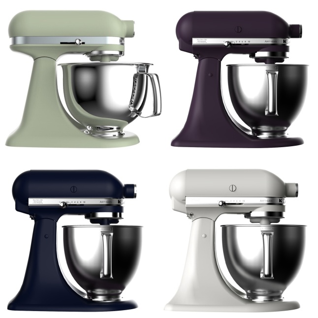 KitchenAid Stand Mixer New Colors