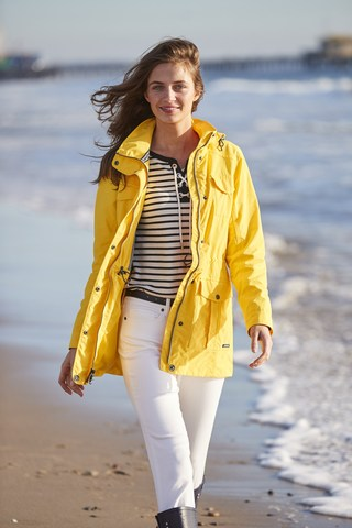 Lands' End takes spring rainwear by storm.