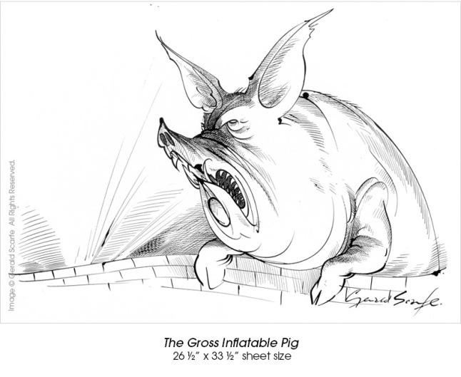 The Gross Inflatable Pig