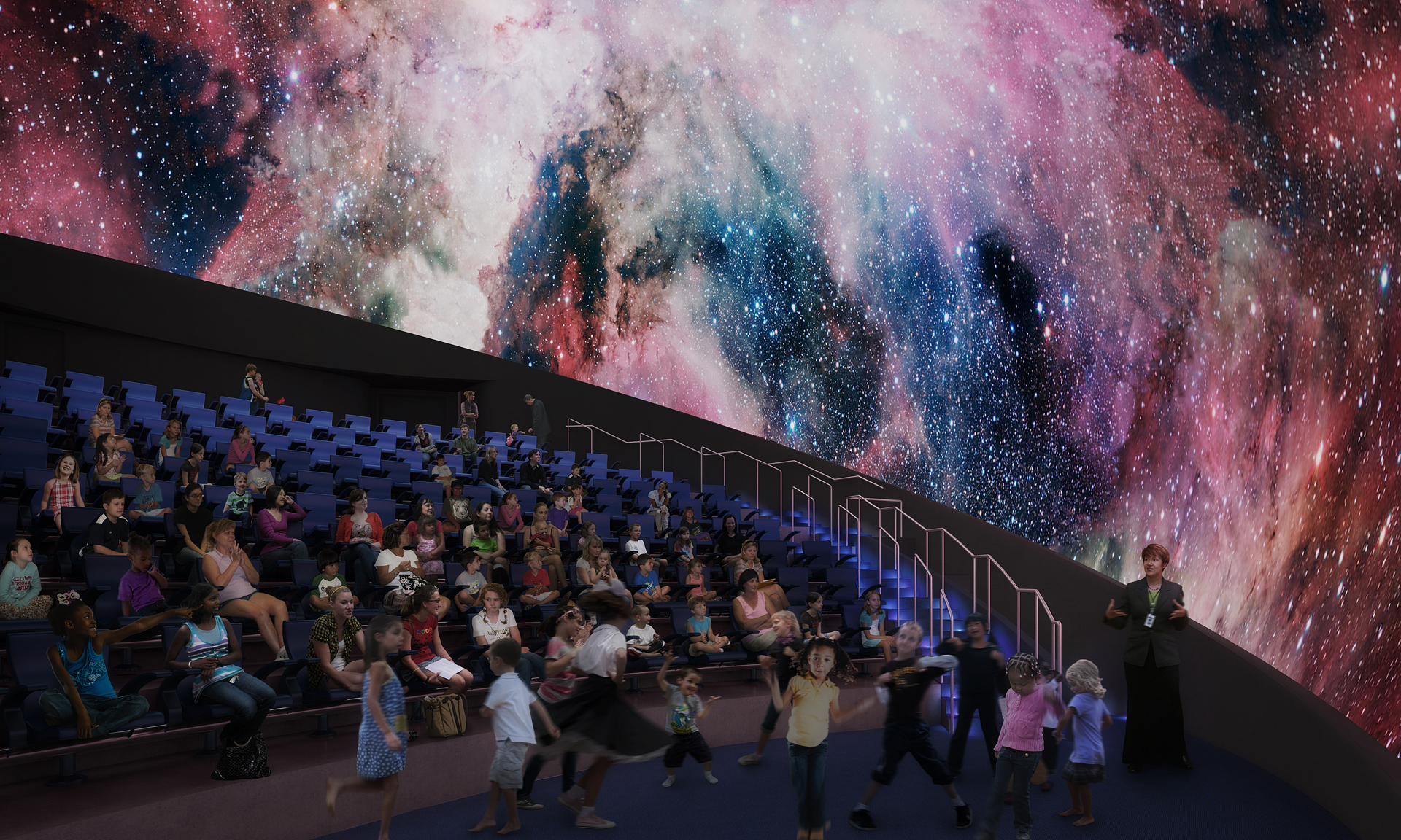 Interior of the Planetarium at The Phillip and Patricia Frost Museum of Science. (Photo Business Wire)