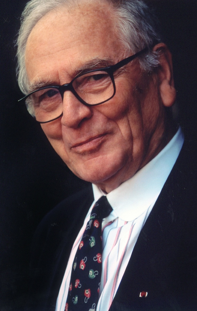 "Pierre Cardin, 1983, the year he is made Knight of the Legion of Honour and and is decorated as ""Chevalier des Arts and des Lettres"" (courtesy Archives Pierre Cardin)"