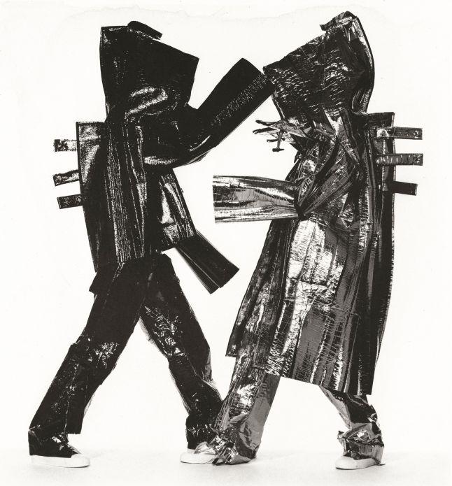 Two Miyake Warriors (A)