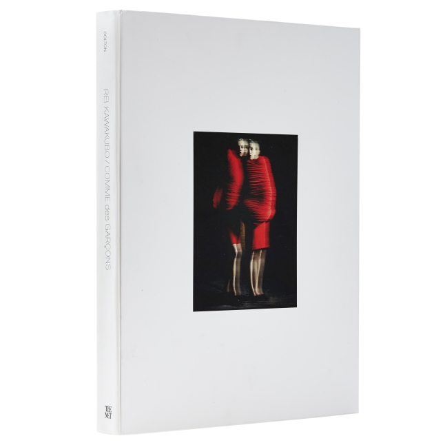 Rei Kawakubo/Comme des Garçons: Art of the In-Between Catalogue Cover. Photo Credit: ©Jake Melrose