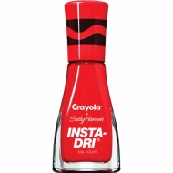 Sally Hansen + Crayola Insta-Dri Collection - Scarlet