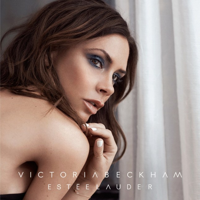 Estee Lauder Victoria Beckham Model Image