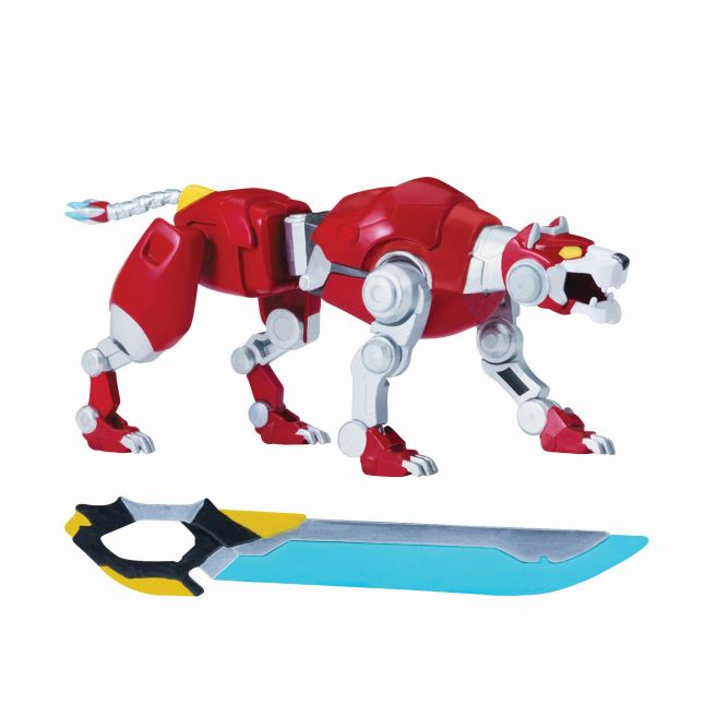 DreamWorks Voltron Metal Defender – Red Lion from Playmates Toys