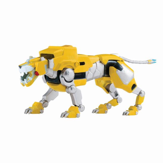 DreamWorks Voltron Metal Defender – Yellow Lion from Playmates Toys