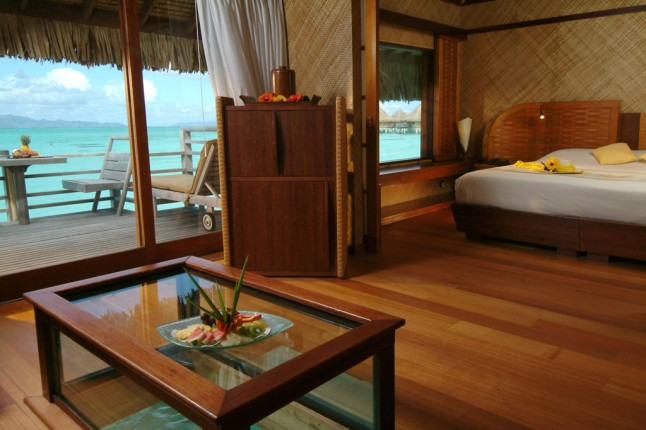 InterContinental Bora Bora Le Moana Resort - overwater bungalow
