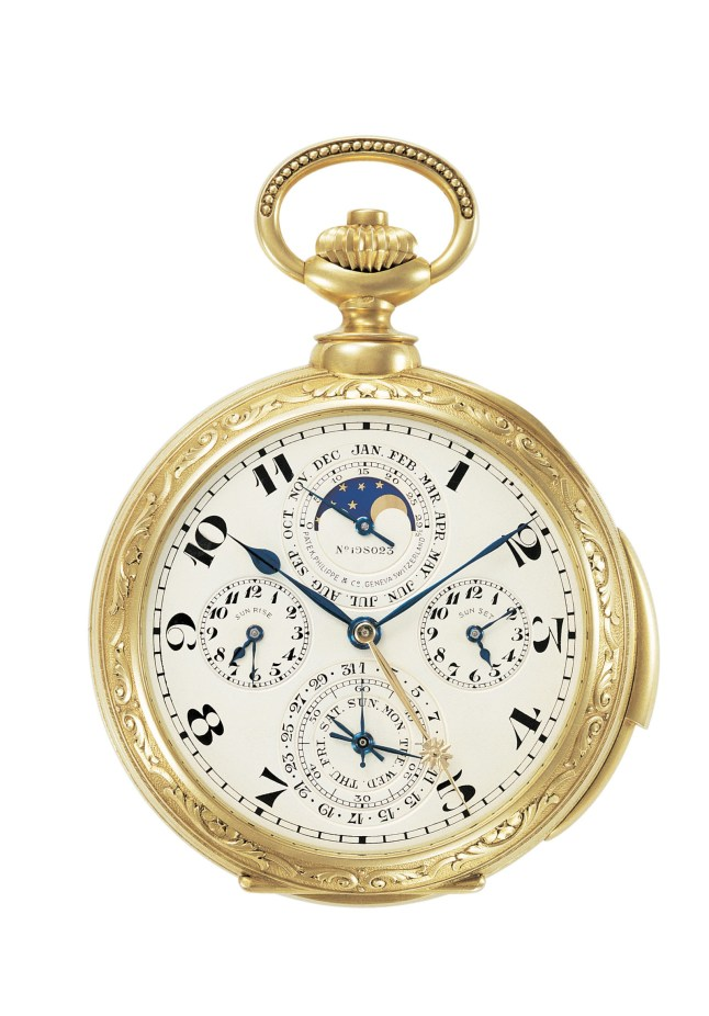 Patek Philippe 1927 James Ward Packard