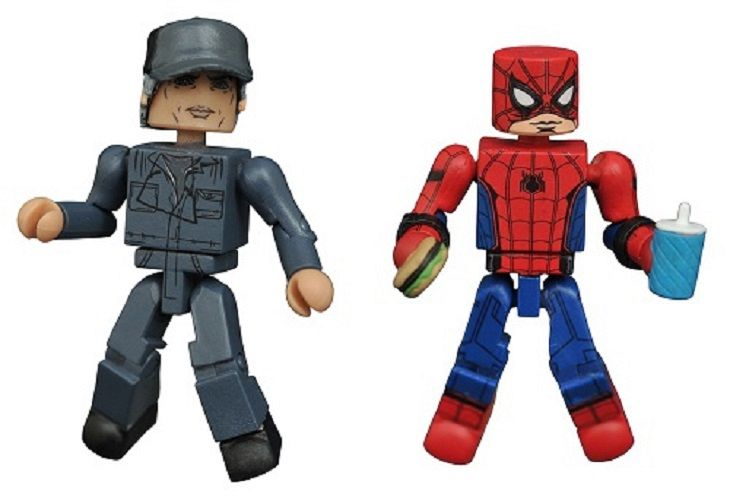 Marvel Minimates Spider-Man Homecoming Spider-Man vs. Adrian Toomes Exclusive 2-Pack from Diamond Select Toys™