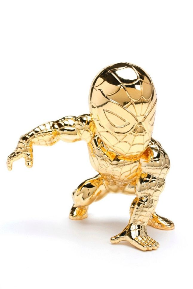 Metals Die Cast 4-Inch Comic Convention Gold Spider-Man from Jada Toys