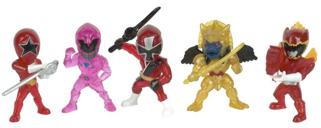Power Rangers Micro Morphin™ Capsule Figures Translucent Edition Convention Exclusive from Bandai™