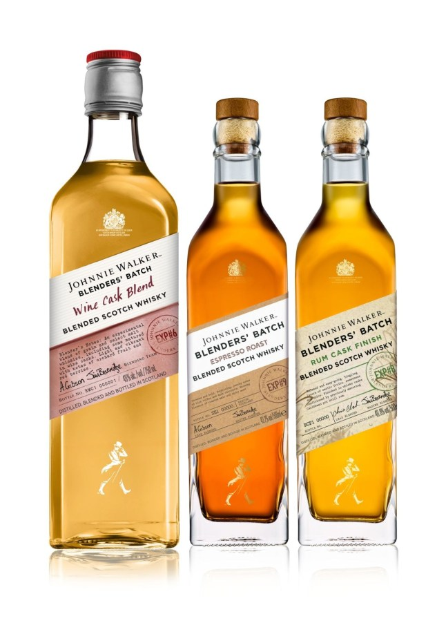 Johnnie-Walker Blenders Batch
