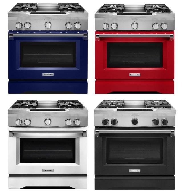 KitchenAid Commercial Ranges