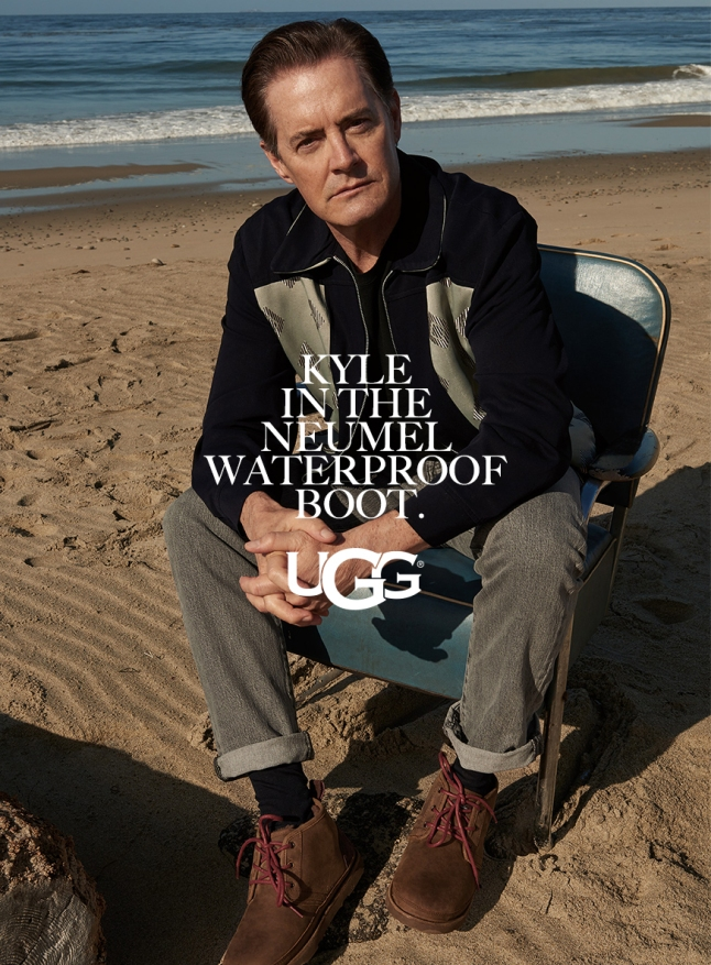 Kyle MacLachlan for the FW17 UGG Collective