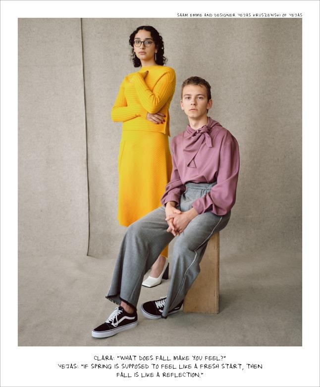 Nordstrom Fall Campaign - Saam Emme, Vejas Kruszewski