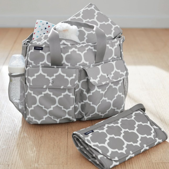 Lands End Diaper Bag