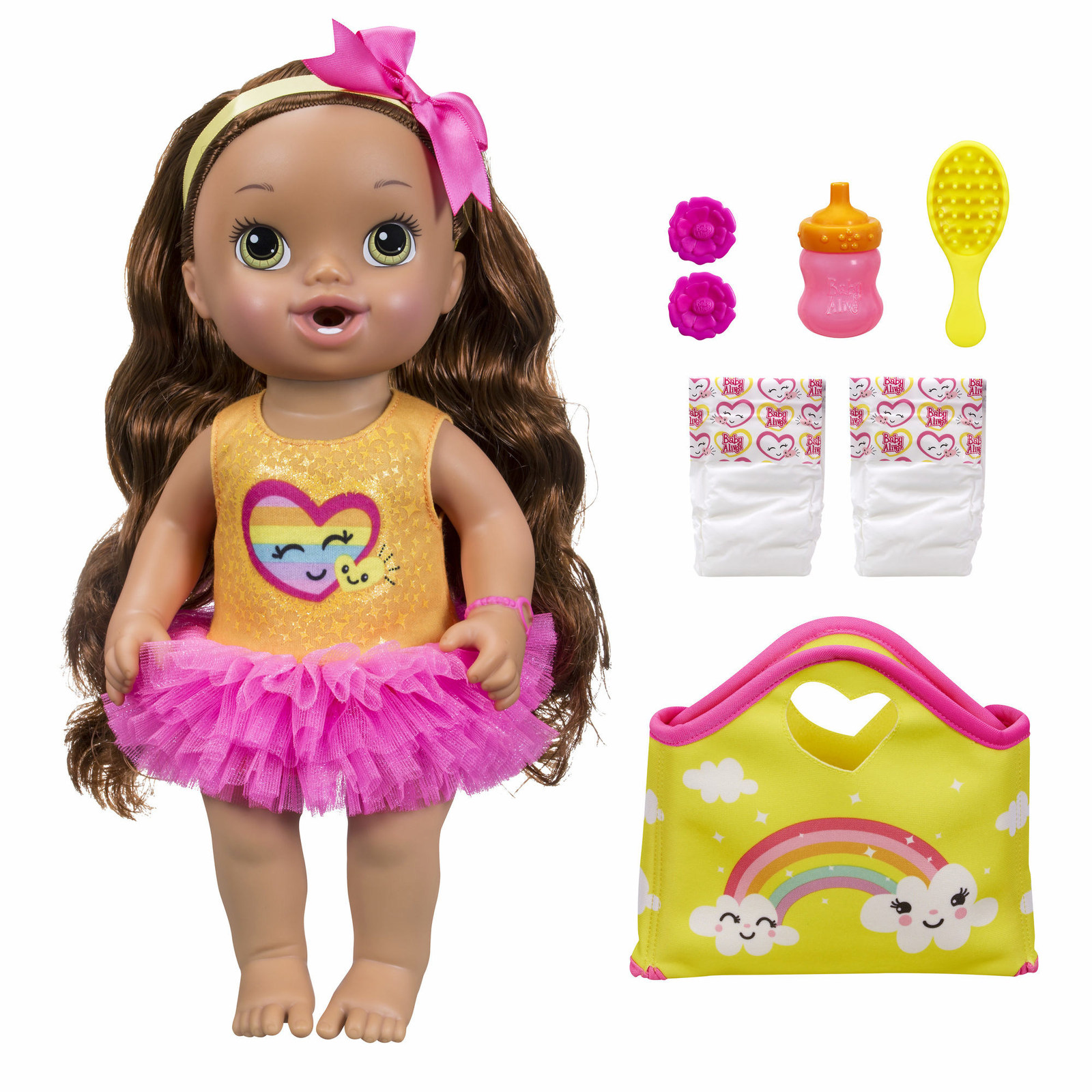 Baby-Alive-Darci-s-Dance-Class-Doll-Brunette-BJs Wholesale Club