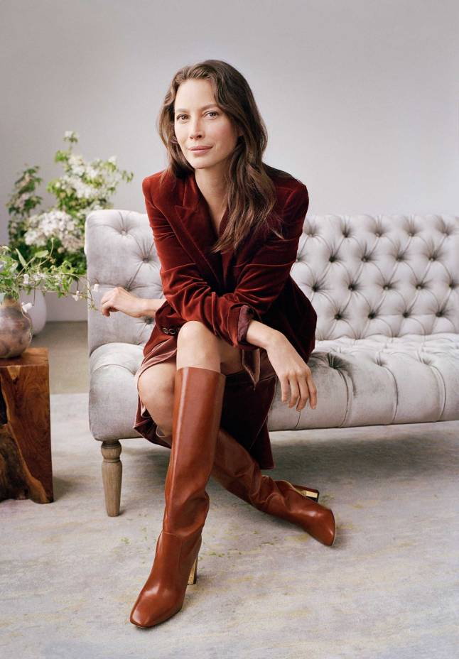 Cole Haan - Fall 2017 Extraordinary Women, Extraordinary Stories Campaign - Christy Turlington Burns - Collection Tall Boot in Brand