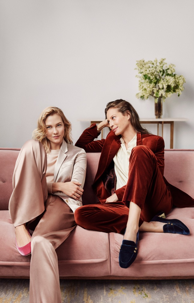 Cole Haan_Fall 2017 Extraordinary Women, Extraordinary Stories Campaign_Christy Turlington Burns and Karlie Kloss_Cole Haan Collection