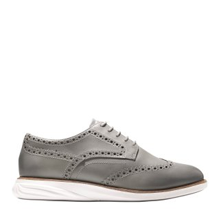 Cole Haan_GrandEv++lution Shortwing_Gray Pinstripe-Ivory Magnet