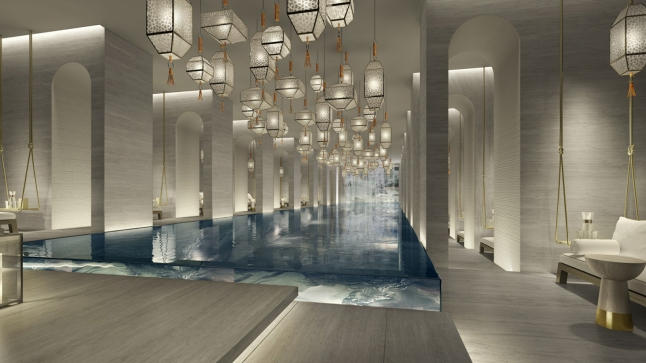 Four Seasons Hotel Kuwait At Burj Alshaya - Indoor Pool