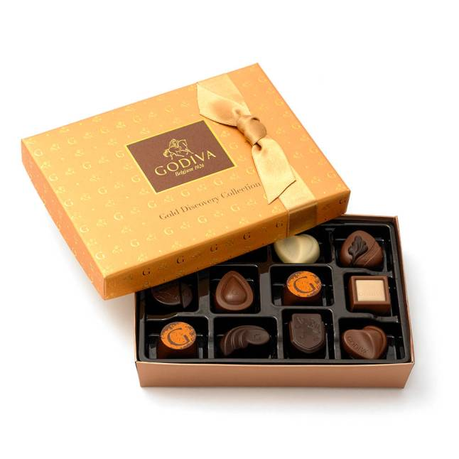 Godiva Gold Discoveryn Collection