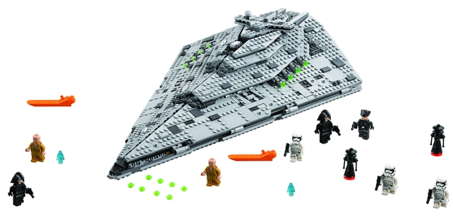 LEGO Star Wars First Order Star Destroyer (The LEGO Group)