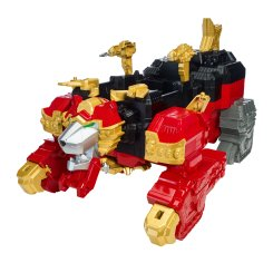 Power Rangers Ninja Steel Lion Fire Fortess Zord