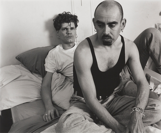 Stephen Barker, 'Rod Sorge (1969-1999) ACT UP Needle Exchange, and Amador Vega, ACT UP Latino Caucus,' 1994, Gelatin Silver Print