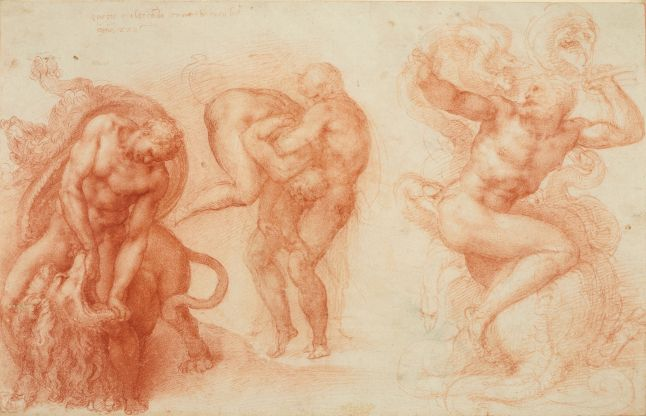 9. Michelangelo_Three Labours of Hercules_HM Queen Elizabeth II_Windsor