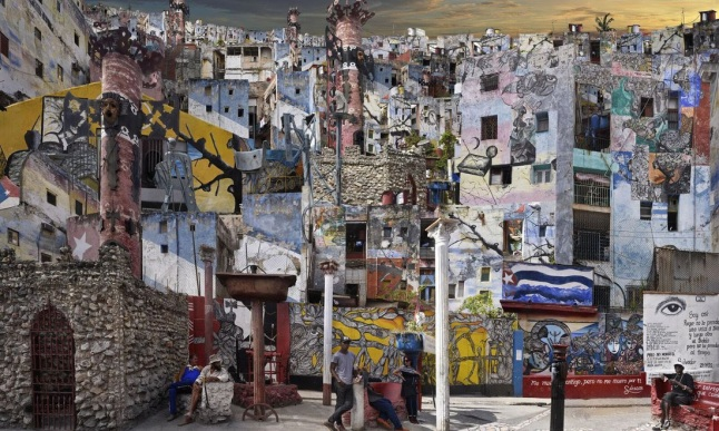 Cuba, Callejon de Hamel 1, C-Print 2017