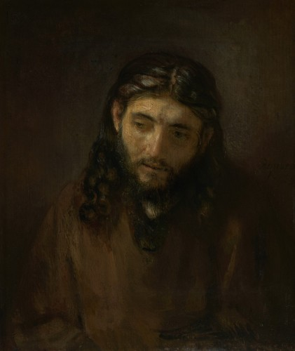 Head of Christ, c. 1648 1656. Rembrandt Harmensz. van Rijn, Dutch