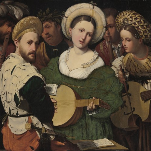 Musical Group, 1520s. Callisto Piazza (Calisto de la Piaza da Lodi),