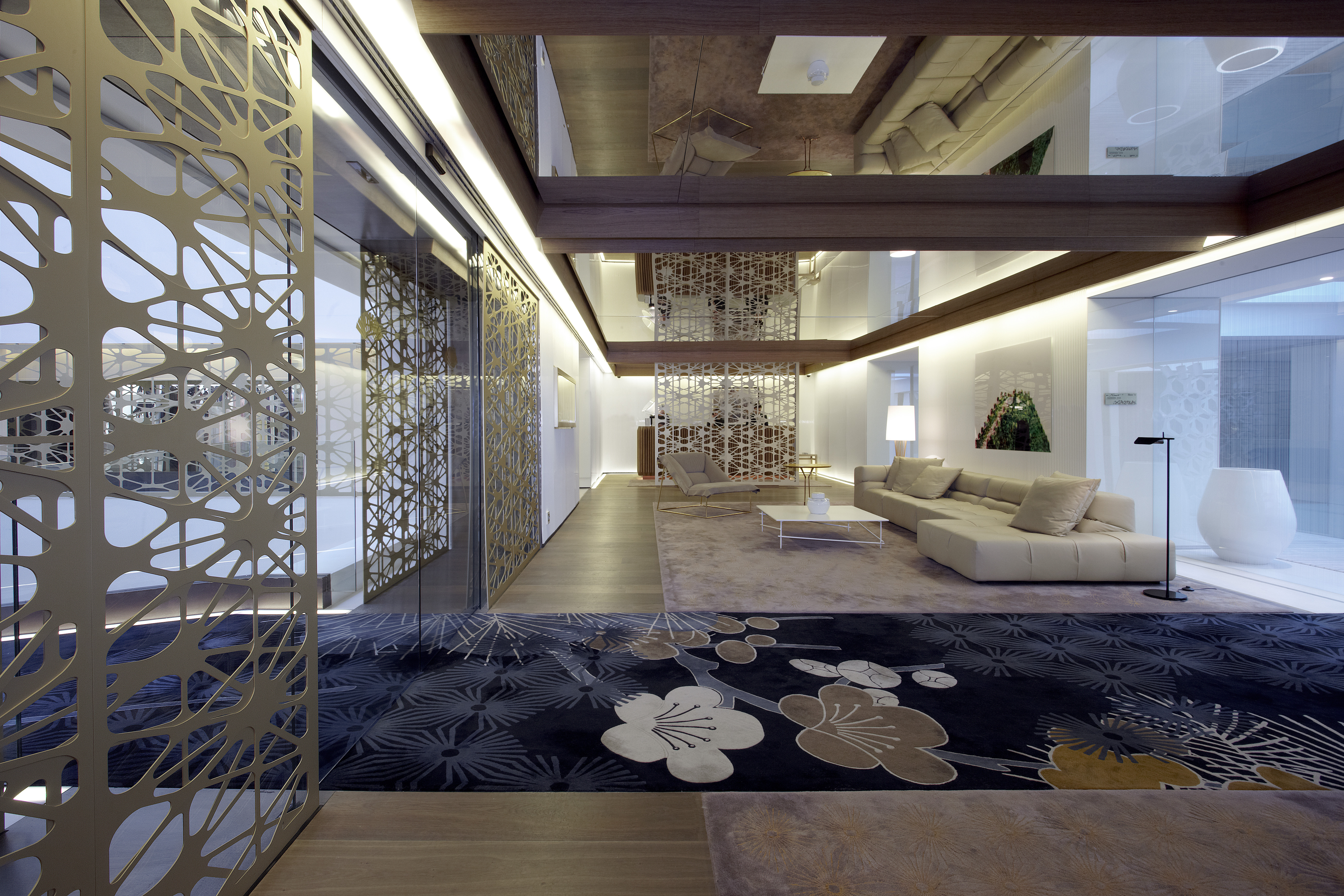 Photograph of Mandarin Oriental Hotel, Barcelona, Spain. Designed by Patricia Urquiola. Designed in 2010. (2)